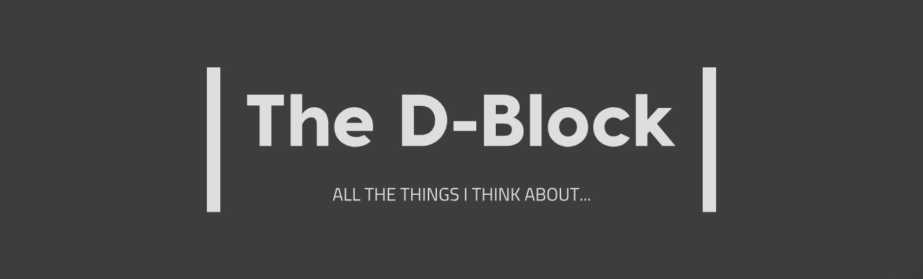 The D-Block - The Things I Think About